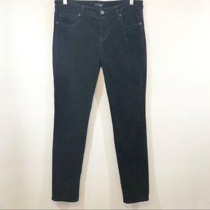 EDYSON Nordstrom Black Corduroy Skinny 31 LONG